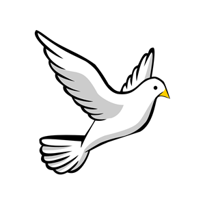 White Dove svg #4, Download drawings