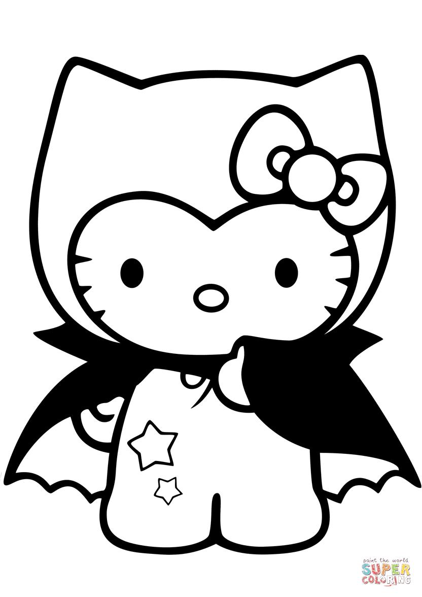 Dracula coloring #9, Download drawings
