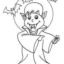 Dracula coloring #11, Download drawings