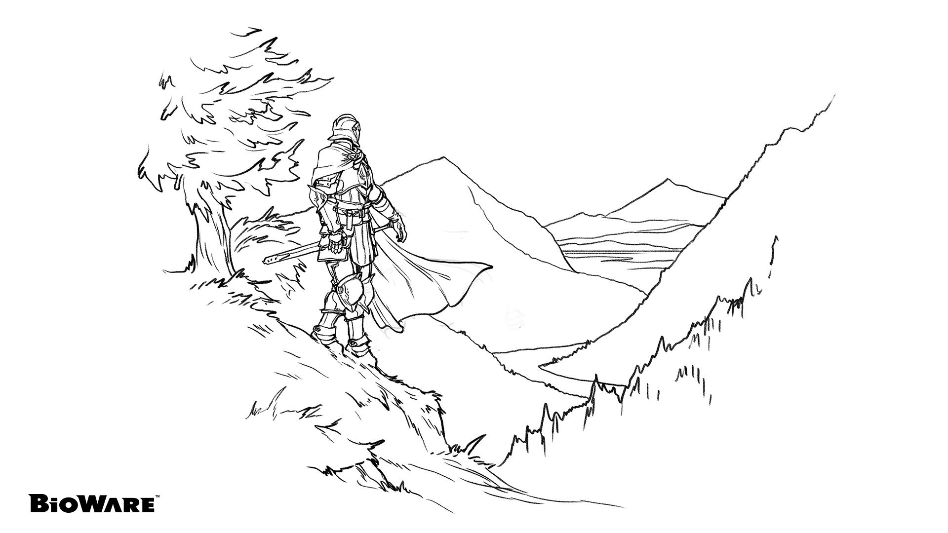 Dragon Age: Origins coloring #12, Download drawings