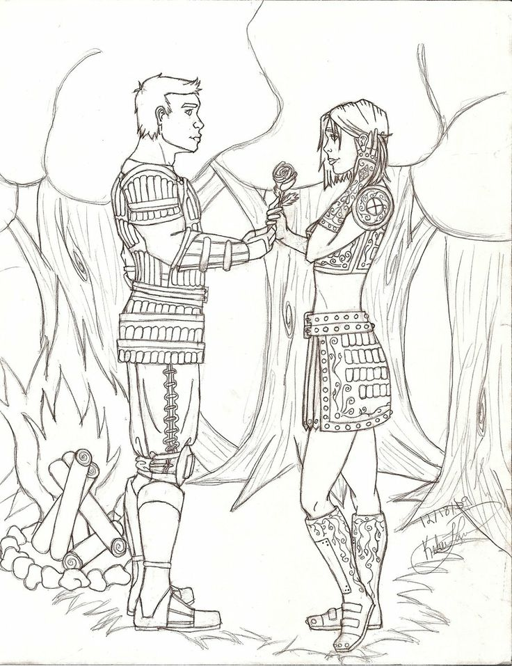 Dragon Age coloring #7, Download drawings
