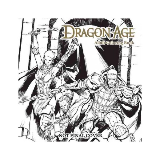 Dragon Age coloring #11, Download drawings