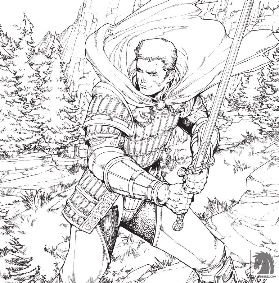 Dragon Age: Origins coloring #16, Download drawings