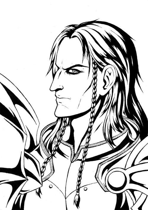 Dragon Age: Origins coloring #4, Download drawings