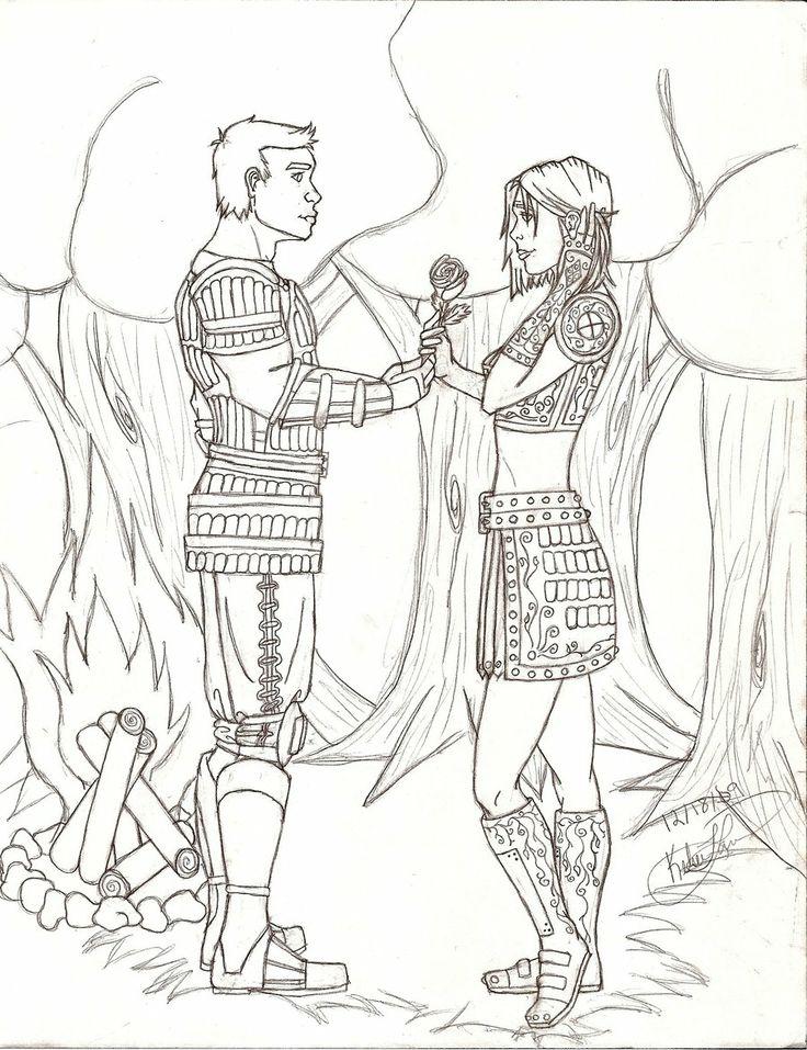 Dragon Age: Origins coloring #20, Download drawings