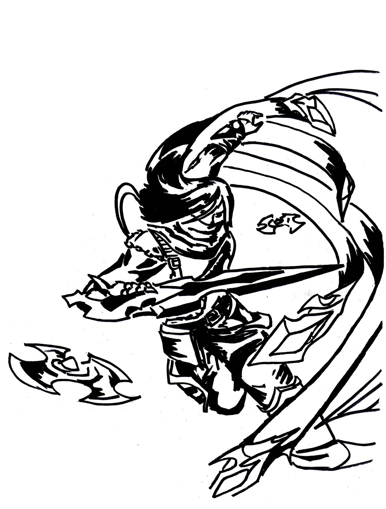 Dragon Blade coloring #8, Download drawings