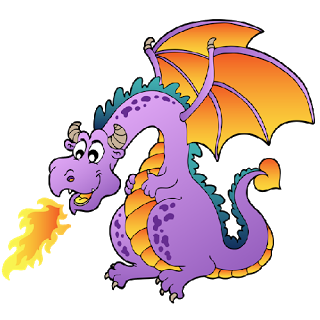 Dragon clipart #2, Download drawings