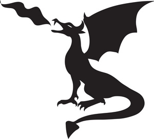 Dragon clipart #7, Download drawings
