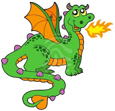 Dragon clipart #18, Download drawings