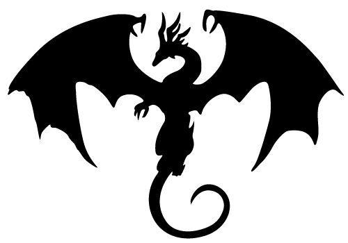 Dragon clipart #9, Download drawings