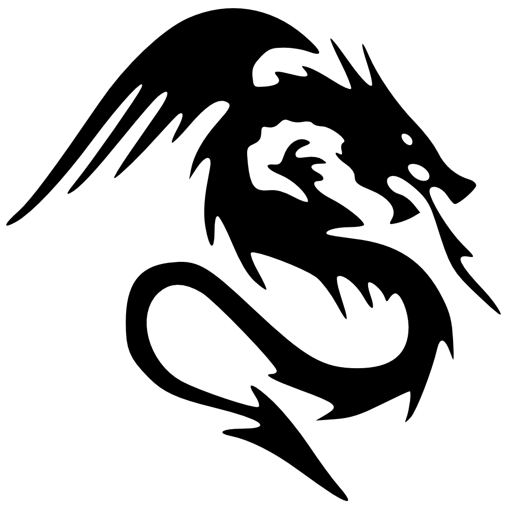 Dragon clipart #6, Download drawings