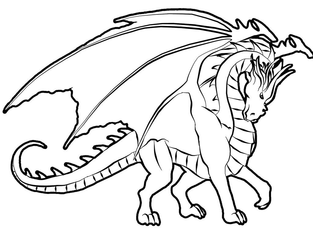 Draon coloring #12, Download drawings