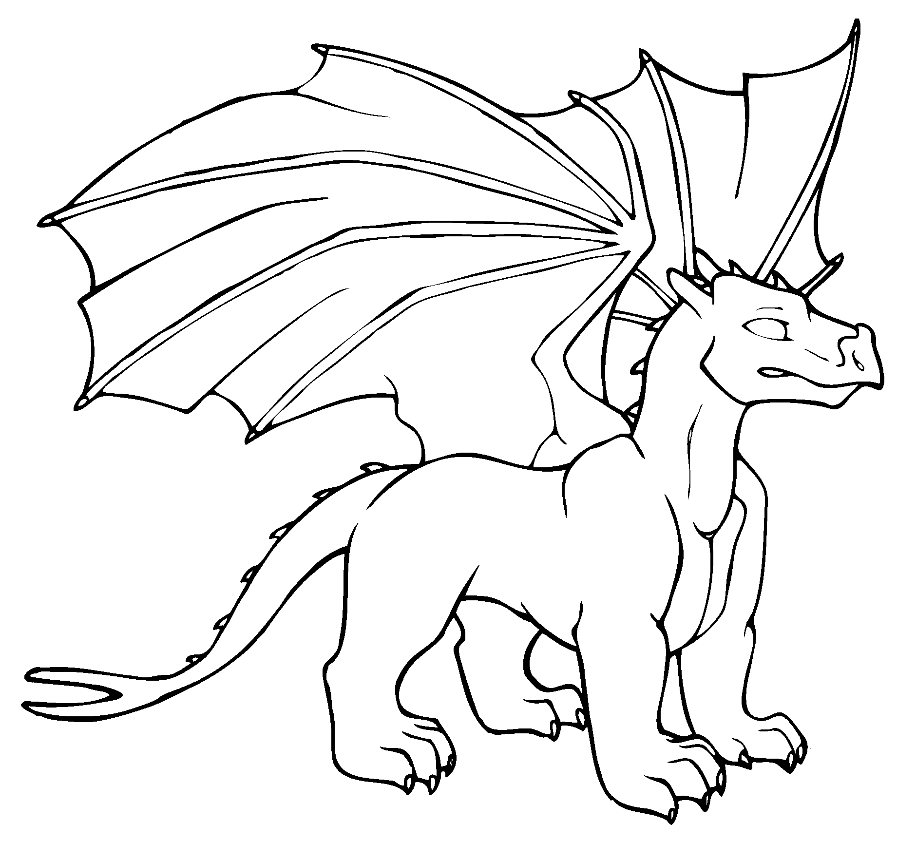 Dragon coloring, Download Dragon coloring for free 2019