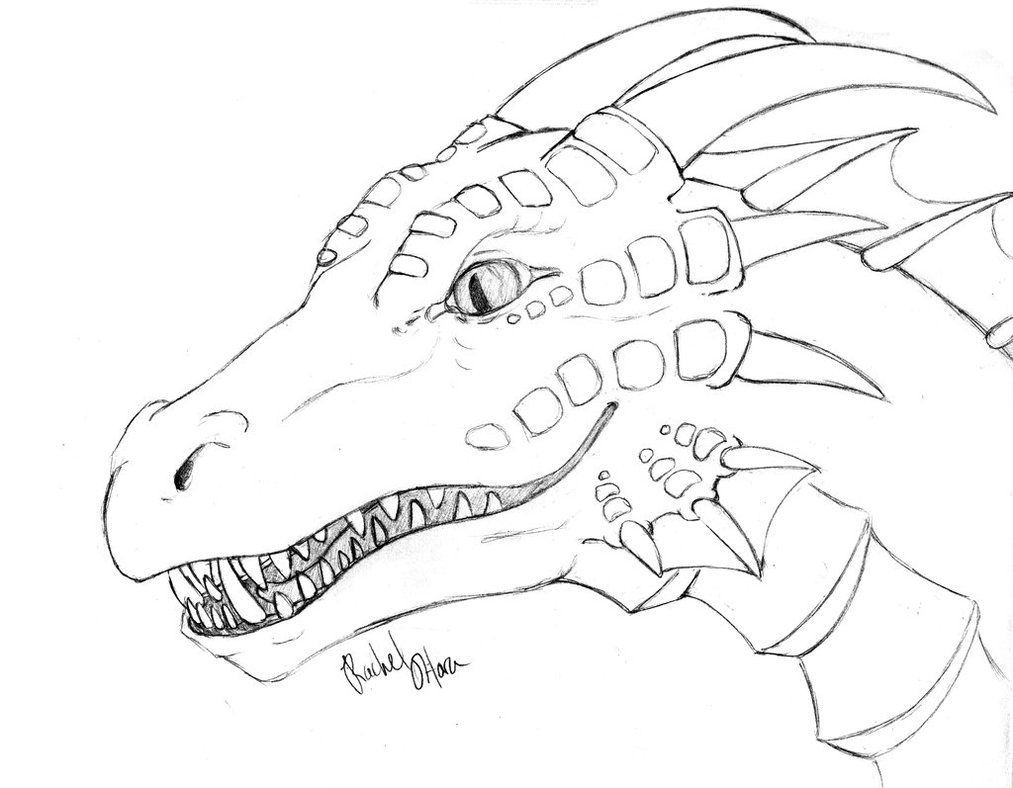 Dragon coloring #16, Download drawings