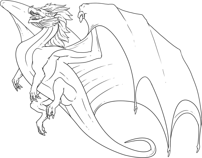 Draon coloring #18, Download drawings