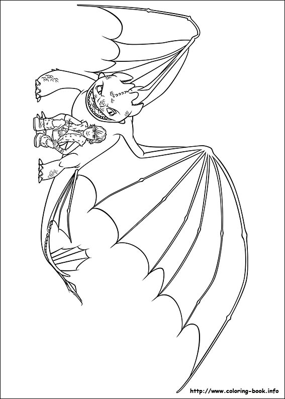 Dragon Rider coloring #10, Download drawings