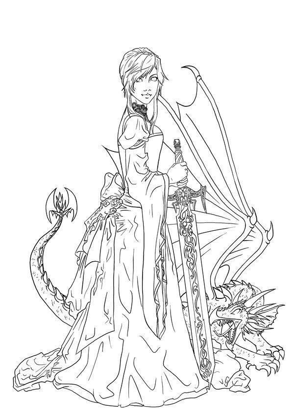 Dragon Rider coloring #6, Download drawings