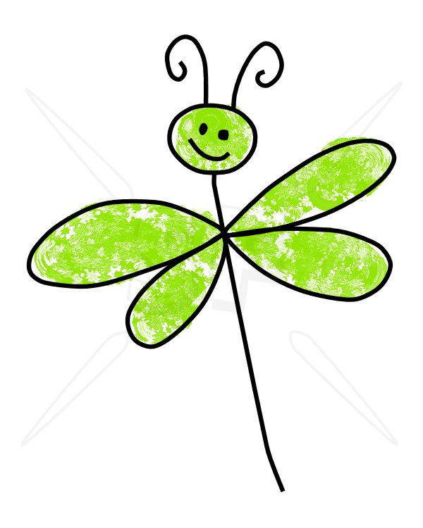 Dragonfly clipart #3, Download drawings