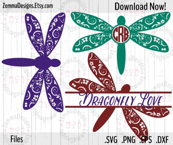 Dragonfly svg #17, Download drawings