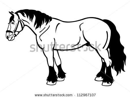 Draught Horse clipart #5, Download drawings