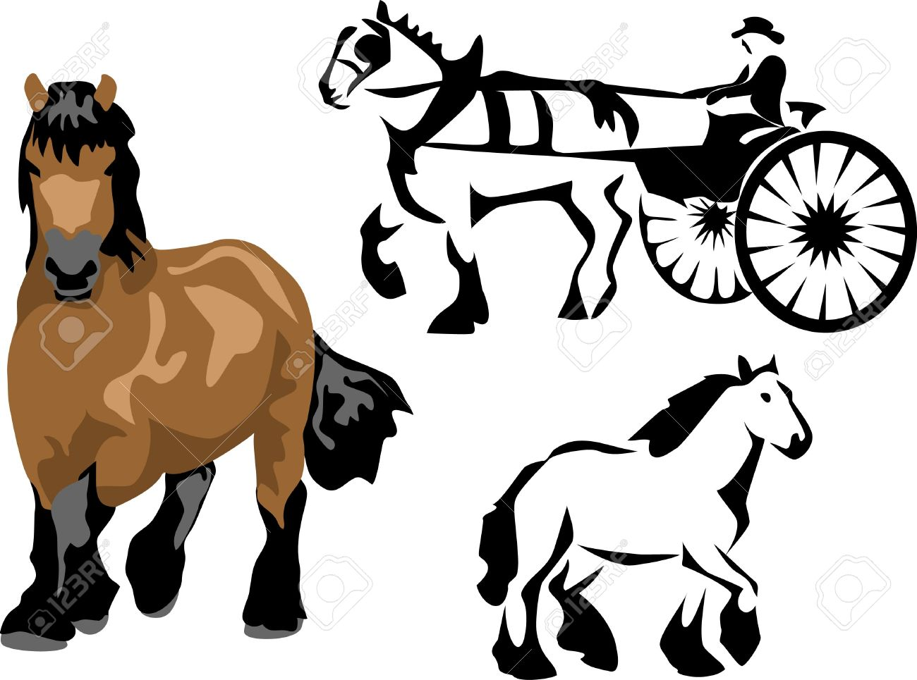 Draught Horse clipart #18, Download drawings