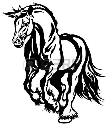 Draught Horse clipart #12, Download drawings