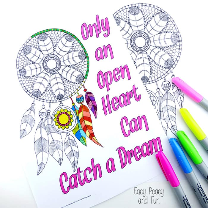 Dreamcatcher coloring #9, Download drawings