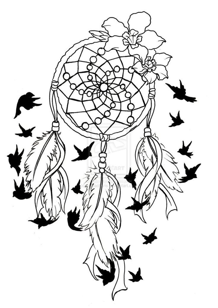 Dreamcatcher coloring #18, Download drawings
