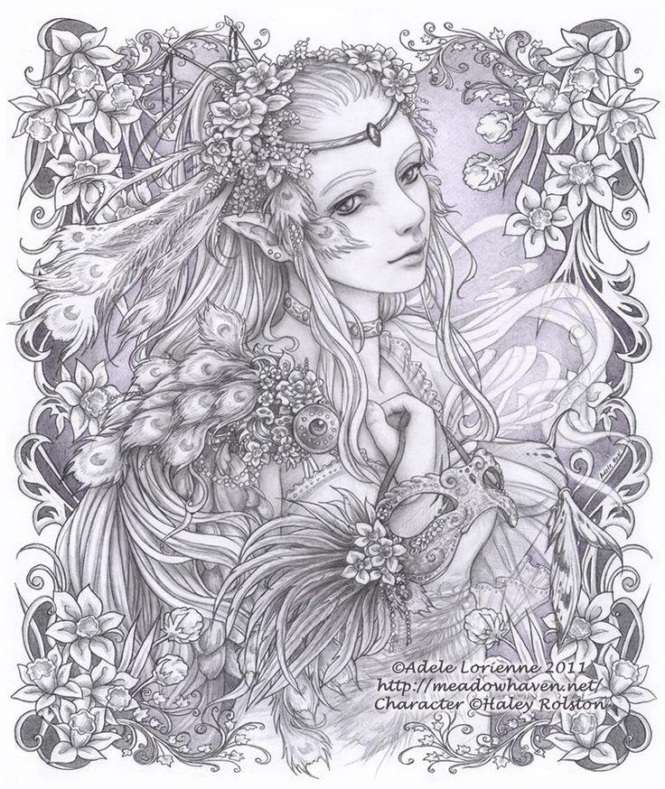 Dreamy Dawn coloring #3, Download drawings