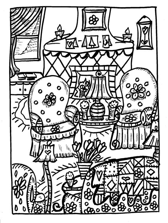 Dreamy Dawn coloring #1, Download drawings