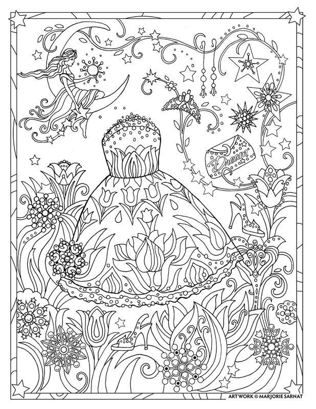 Dreamy Dawn coloring #10, Download drawings