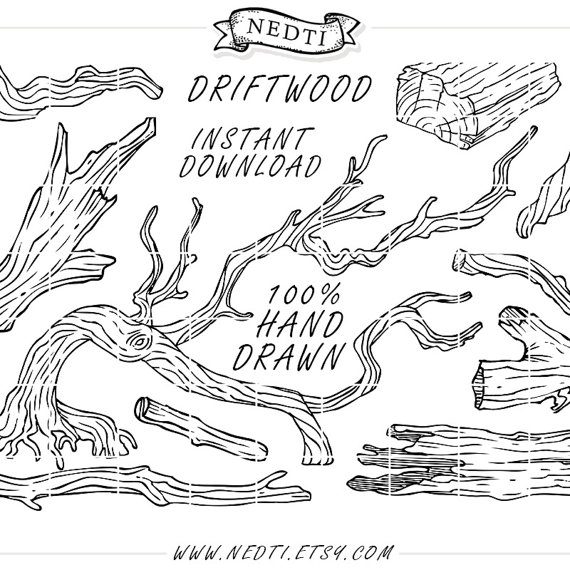 Driftwood coloring #13, Download drawings