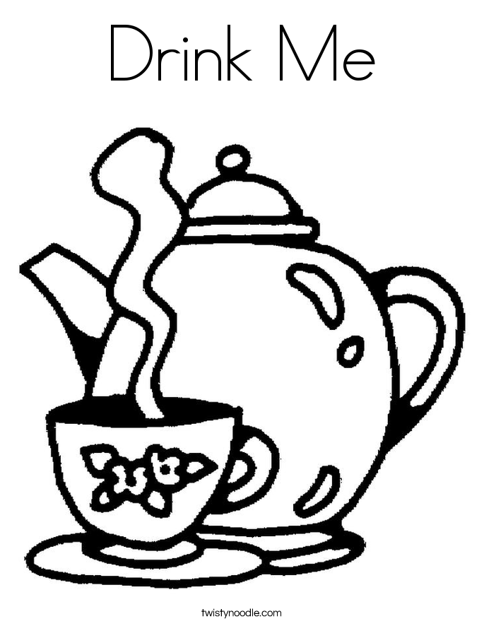Drink coloring #15, Download drawings
