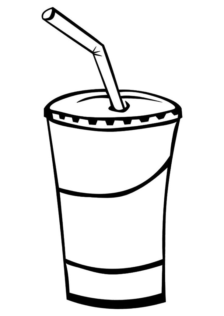 Drink coloring #10, Download drawings