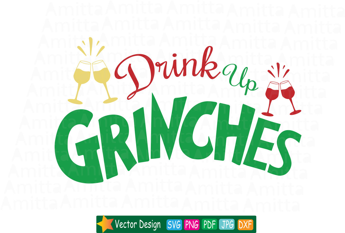 drink up grinches svg #925, Download drawings
