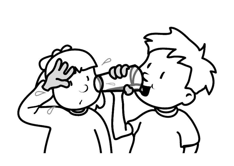 Drinking coloring #1, Download drawings