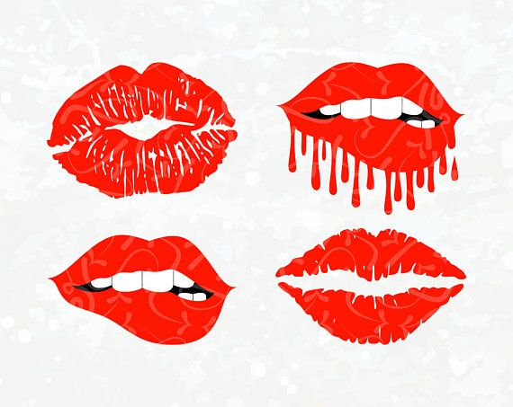 dripping lips svg #1028, Download drawings