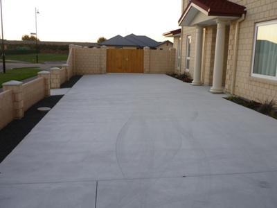 Update Concrete Driveway