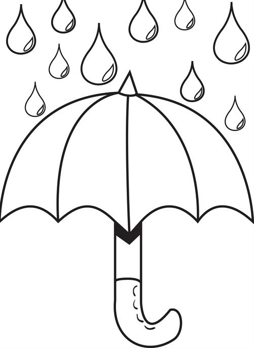 Drops coloring #7, Download drawings
