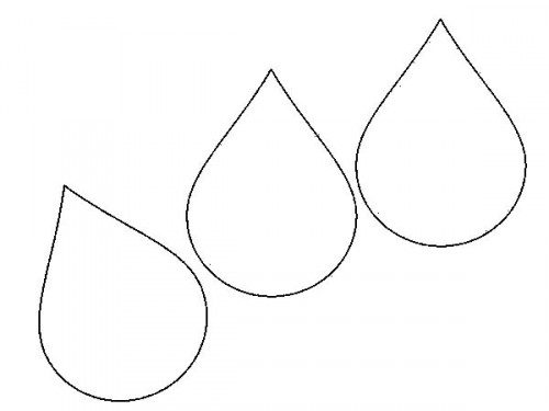 Drops coloring #17, Download drawings