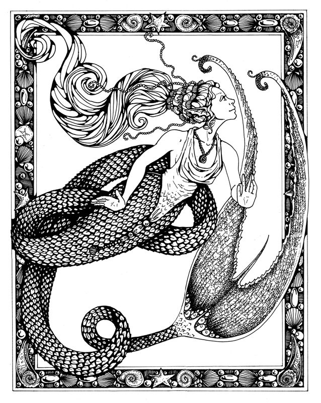 Drown By Water Nitghtmare coloring #10, Download drawings