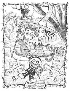 Drown By Water Nitghtmare coloring #18, Download drawings