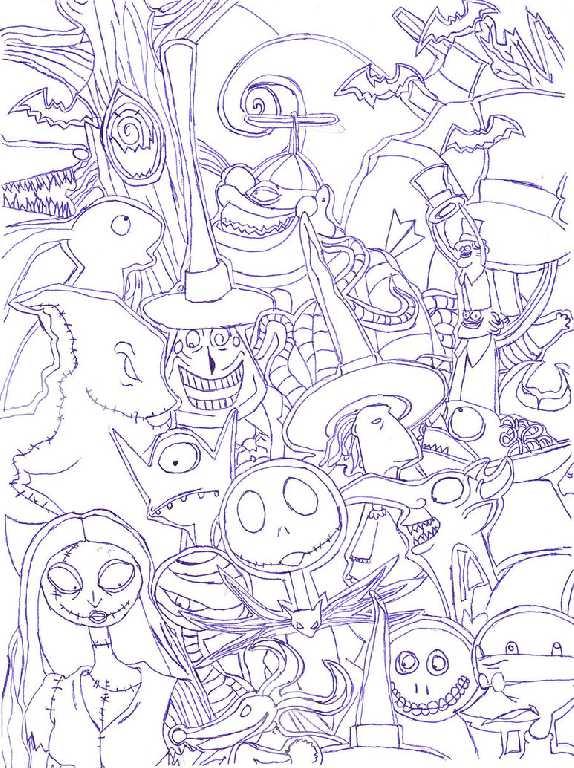 Drown By Water Nitghtmare coloring #16, Download drawings