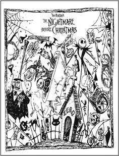 Drown By Water Nitghtmare coloring #14, Download drawings