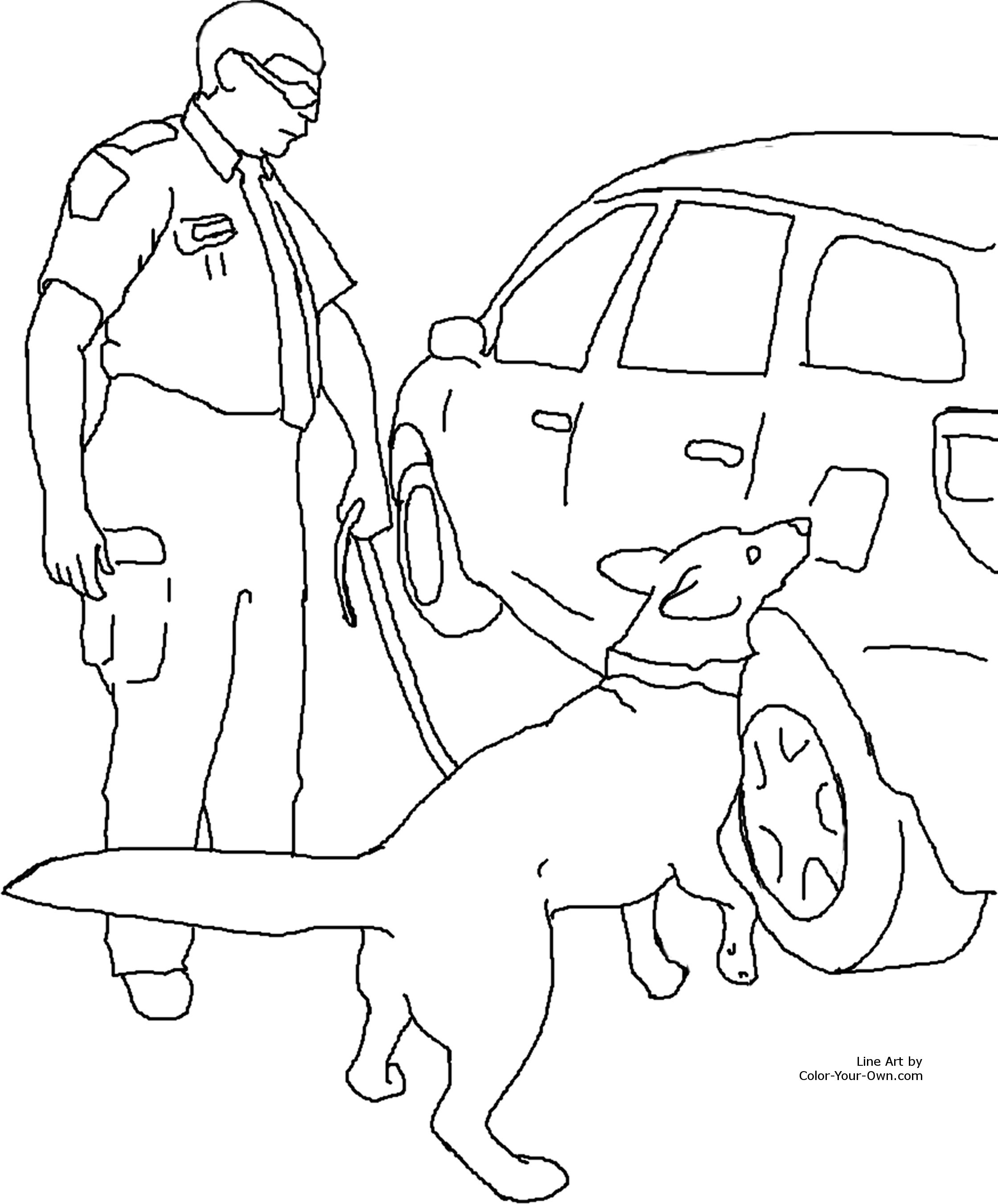 cocaine toucher coloring pages - photo#39