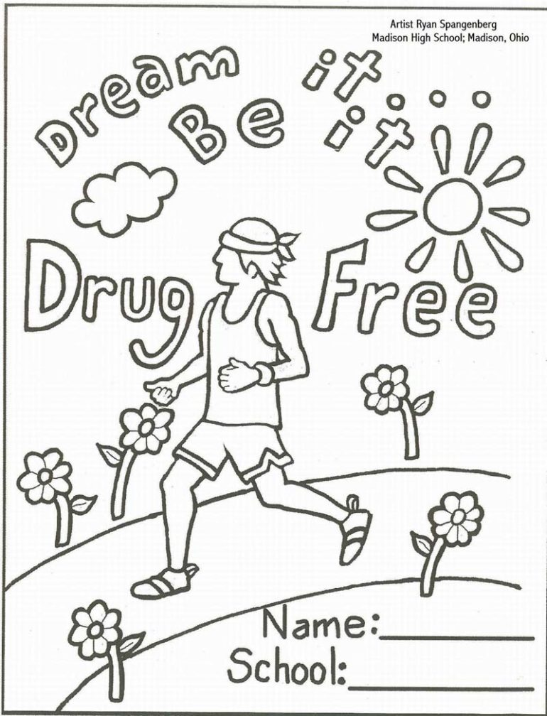 Drugs coloring #9, Download drawings