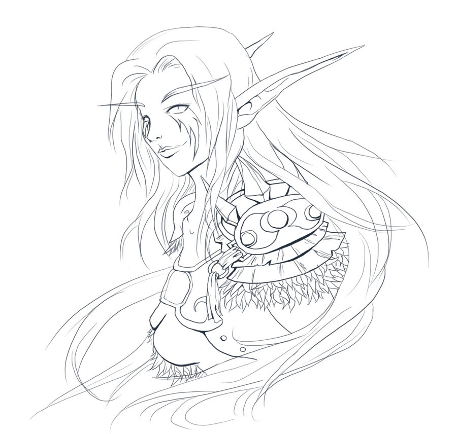 Druid coloring #5, Download drawings