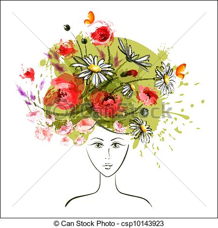 Dryad clipart #11, Download drawings