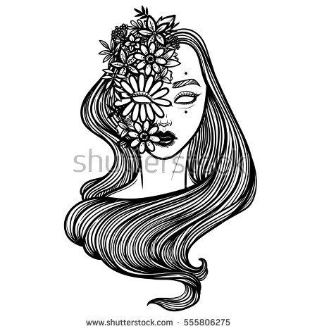 Dryad coloring #14, Download drawings
