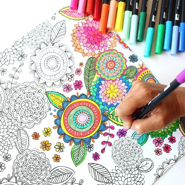 Dual coloring #8, Download drawings
